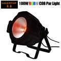 TIPTOP TP-P55B 100 Вт Led COB Par Светильник RGBW 4в1 Fresnel студийный светильник PAR32/PAR64 полноцветная высокомощная сценическая шайба