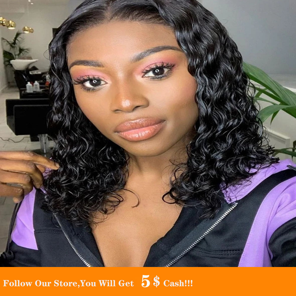 16 Inch Afro Curly Hair Pre Plucked With Baby Hair Synthetic Wig Heat Resistant Cosplay Wig For Black Women Hair Natural Looking