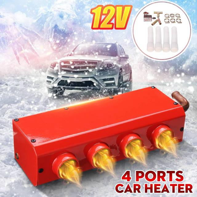 12V 24V Portable Car Heater Windscreen Defroster Demister Auto Van Heating Fan Car Electrical Appliances with Speed Switch