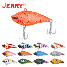 Jerry 1pc 5cm bass fishing lure sinking lures plastic VIB lures lipless crankbait hard bait trout lures jerry 1pc 35mm 2 6g trout lures crankbait freshwater fishing bait ultra light micro hard lures slow sinking wobbler