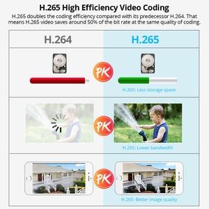 Image 5 - Fuers 4CH güvenlik kamerası güvenlik sistemi kiti WIFI kablosuz NVR kiti 1080P IR gece görüş açık IP kamera Video gözetim seti