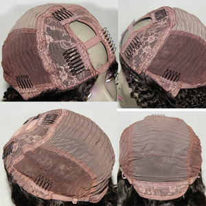 Image 4 - Luffyhair 250% 密度アフロ変態カーリーuの部分かつらモンゴルレミー人毛uの部分かつらアフロのカール女性