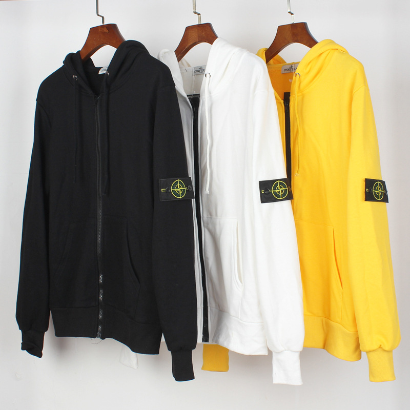2020 Europe And America Popular Brand New Style Men And Women COUPLE'S Casual Loose-Fit Zipper Hooded Coat Support