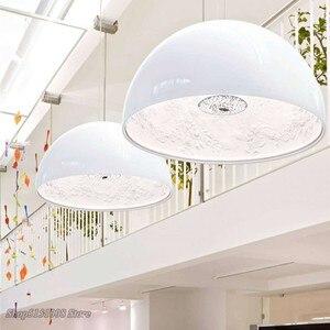 Image 2 - Lampe suspendue en résine, design pendentif Led, design nordique moderne, luminaire décoratif dintérieur, idéal pour un jardin, une salle à manger, un salon ou une chambre à coucher, pendentif Led