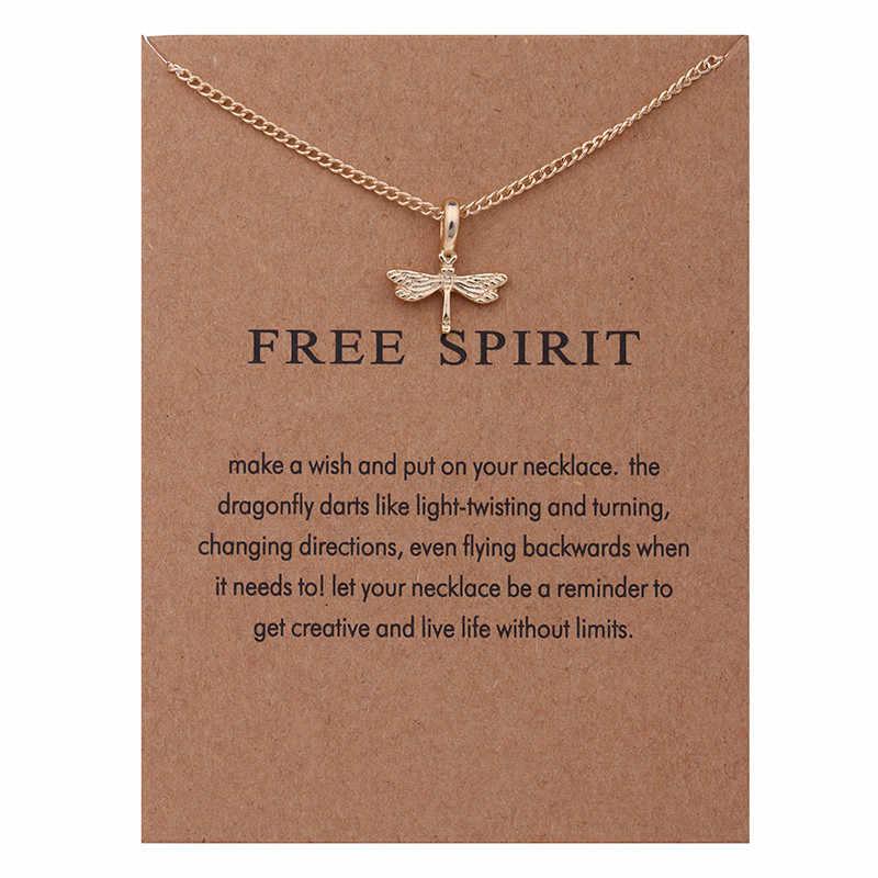 بسيطة لطيف موضة Chocker القلائد مجوهرات الذهب اللون الحيوان اليعسوب قلادة قلادة المرأة الزفاف العروس مجوهرات هدية