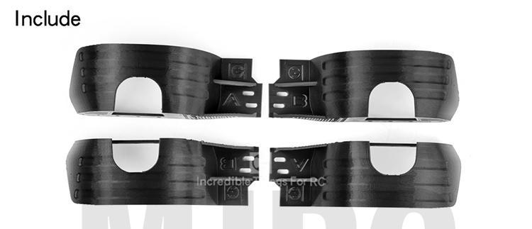 rc acessórios do carro 3d impressão edição