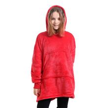 Bluza damska bluza szata zimowa bluza z kapturem na zewnątrz ciepły komfort szlafrok świąteczny koc z polaru tanie tanio CN (pochodzenie) Kieszeń Multi Tools