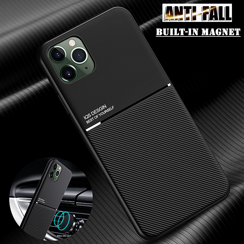 Coque For iPhone 11 Pro XS Max 8 7 SE 6S 6 Plus XR X 5S 5 Magnet Anti Shock TPU Skin Shell Case Cover For Apple iPhone SE 2020(China)