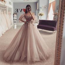 Платье вечернее, для особых случаев, длина до пола, пыльно-розовое, без рукавов, принцесса для женщин, вечерние, Турция, элегантное,, пышное