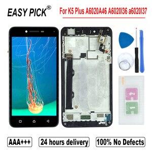 Image 4 - لينوفو فيبي K5 A6020A40 A6020a41 LCD عرض تعمل باللمس محول الأرقام الجمعية لينوفو K5 زائد A6020A46 A6020l36 a6020l37
