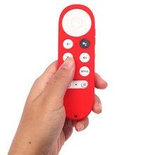 Funda protectora de silicona para mando a distancia, antideslizante, Universal, para Google TV 2020