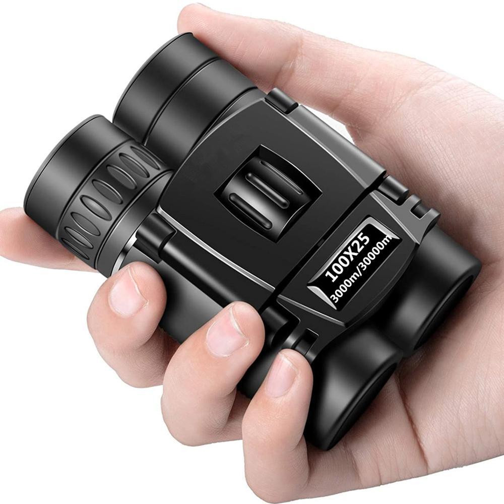 Мощный бинокль 100x25, телескоп HD 3000 м/30000 м Bak4 FMC, оптика дальнего действия, для охоты, занятий спортом, туризма, кемпинга