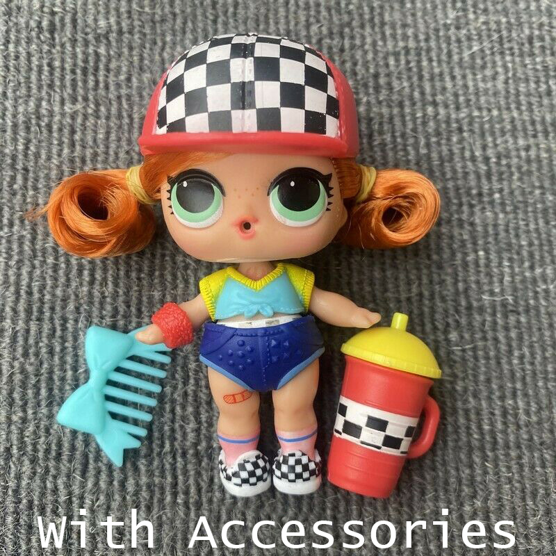 L.O.L! Surprise Dolls Original Lols Dolls Hair Dolls With Genuine Lol Surprise Dolls Naked Hairgoals Accessories Girl's Toy Gift