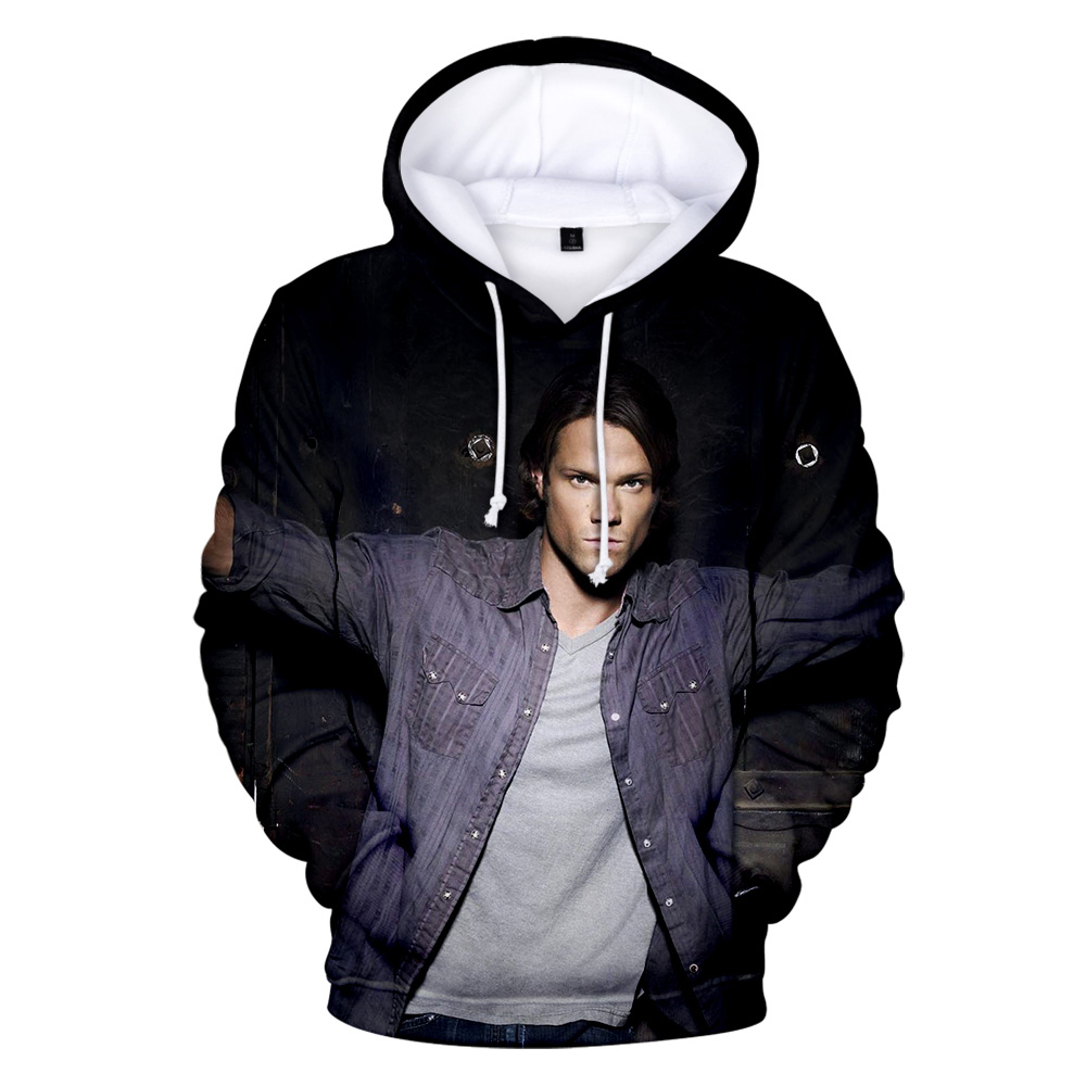 New Listing Supernatural 3D Hoodies Men Women Hot Sale Fashion Casual Streetwear Warm Hoodies Supernatural 3D Print Sweatshirts