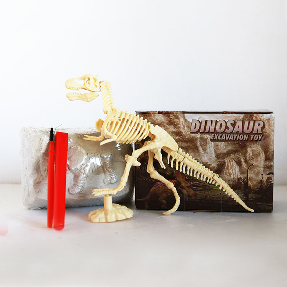 Digging Up Dinosaur Excavation Kit Tyrannosaurus Archaeology Game Model Building Educational Toys Children Gift Kids Learning