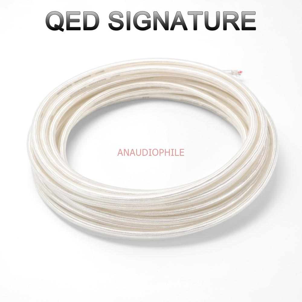 QED Signature Hifi Audio <font><b>Cable</b></font> Sliver Plated <font><b>4</b></font> Conductors For <font><b>RCA</b></font> Interconnect USB XLR Balanced Audio <font><b>Cable</b></font> DIY image