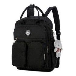 Litthing, дропшиппинг, 2019, Модный женский рюкзак, водонепроницаемый, нейлон, мягкая ручка, Одноцветный, мульти-карман, для путешествий, на молнии,...
