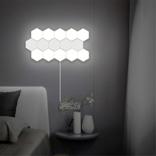 Nordic Art LED Wall Lamp Loft British Creative Honeycomb Modular Assembly Helios Touch Lamp Quantum Lamps Magnetic Wall Lights