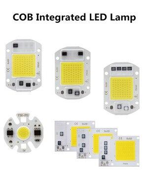 цена на White / Warm White 3W 5W 7W 9W 10W 20W 30W 50W LED light Chip AC 220V COB Integrated LED lamp Chip DIY Floodlight Spotlight Bulb