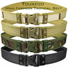 Army Style Combat Belts Quick Release Tactical Thickened Widen Belt Fashion Men Canvas Waistband Outdoor Hunting Accessories 1