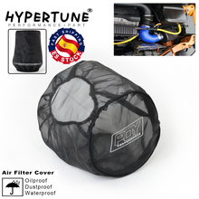 Protective-Cover AIR-INTAKE-FILTERS Universal High-Flow for Waterproof Cylindrical Black