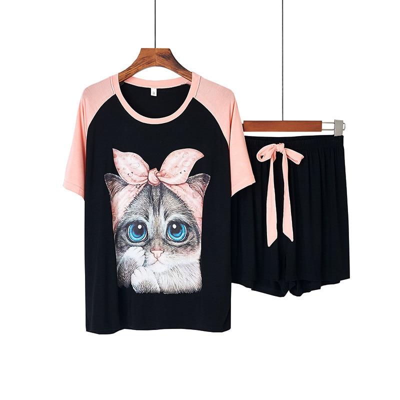 Cute Cat Face Pajamas