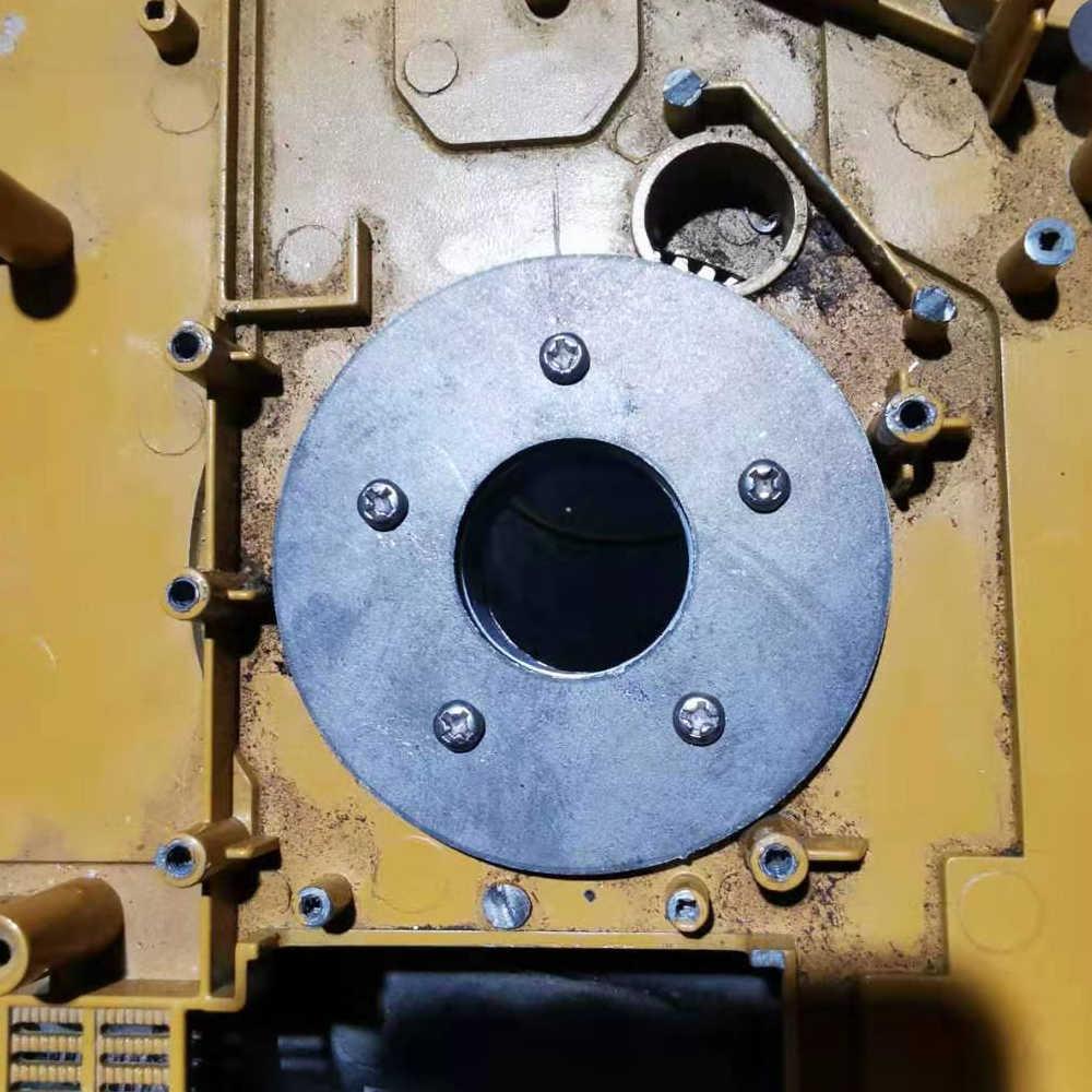 Yükseltme büyük döner dişli plaka döner dişli HUINA 580 23 kanal ekskavatör 1:14 RC Metal ekskavatör parçaları