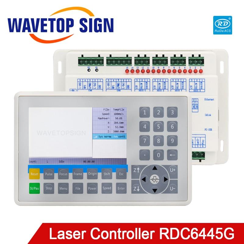 Ruida RDC6445 RDC6445G Laser Machine Controller For Co2 Laser Engraving Cutting Machine Upgrade RDC6442 RDC6442G