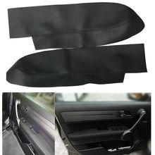 Konsole Tür armlehne abdeckung Innen Ausrüstung Für Honda CR-V CRV 2007-2012 Auto Mikrofaser leder Panel