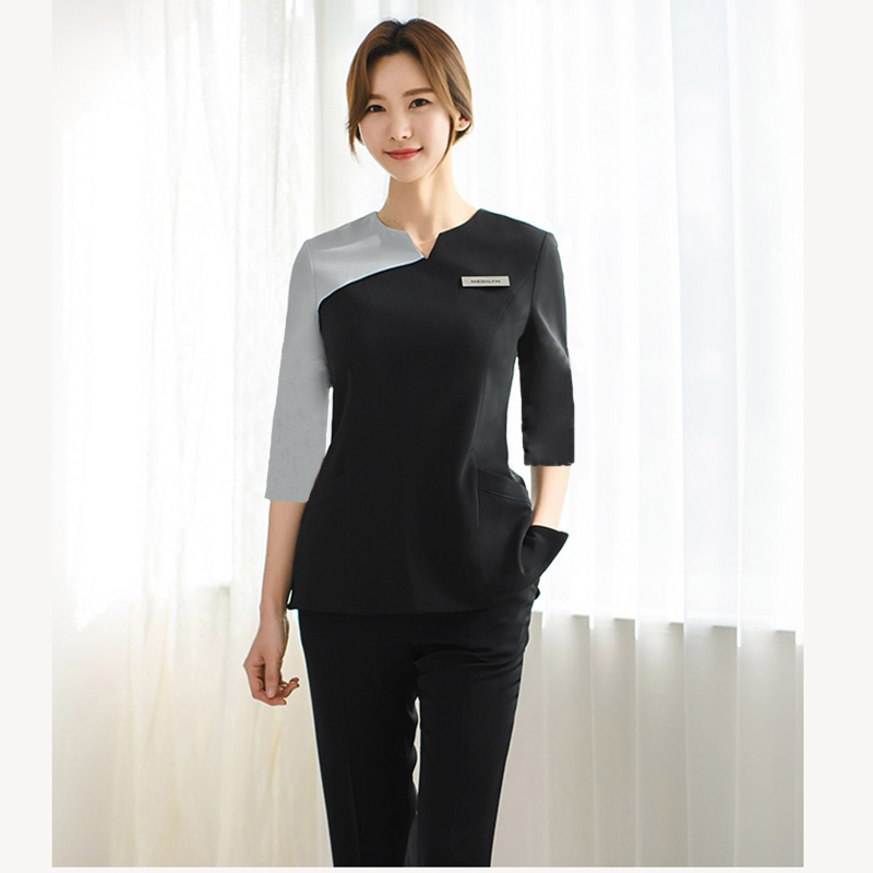 Korean Medical Beauty Hospital Nurse's Pants Suit Oral Clinic Pet Hospital Nurse's Work Clothes