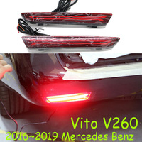 2016~2019year car bumper tail light for Vito taillight V260 LED car accessories Taillamp for Vito rear light fog