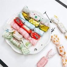 100 pçs/lote diy artesanal novo estilo grosso festa de natal presente nougat doces embalagem a óleo papel leite doces taffy embalagem pacote alimentos