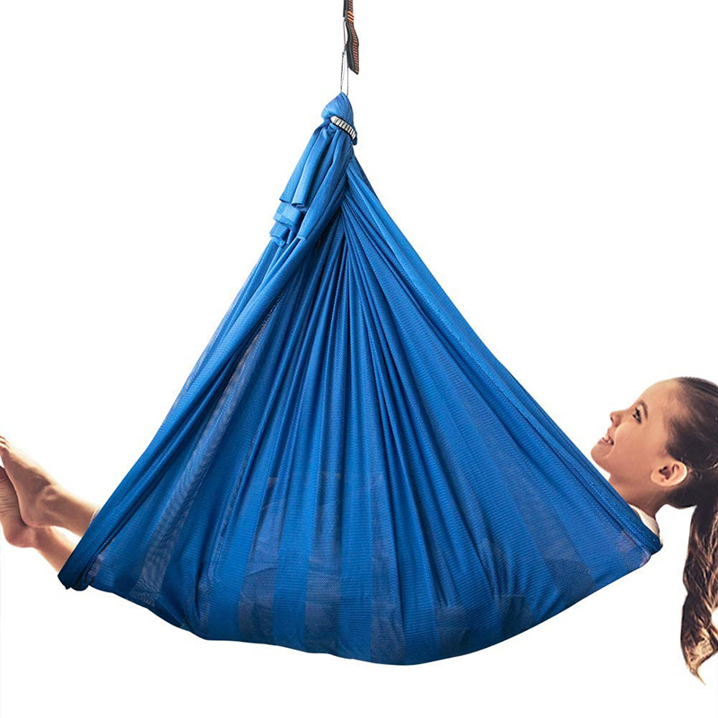 YAERSI Indoor Therapy Swing for Kids Child Hanging Swing Great for Sensory Integration Sensory with Special Needs