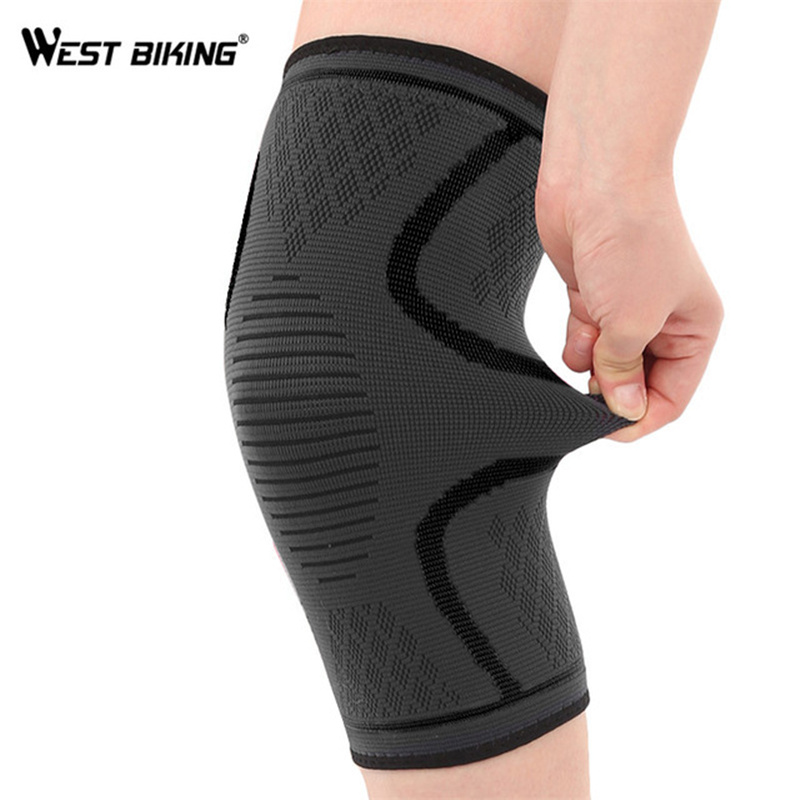 WEST BIKING 1 PC Cycling Leg Warmers Windproof Sports Safety Knee Pads Outdoor Running Climbing Gaiters MTB Bicycle Leg Warmer