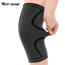 купить WEST BIKING 1 PC Cycling Leg Warmers Windproof Sports Safety Knee Pads Outdoor Running Climbing Gaiters MTB Bicycle Leg Warmer дешево