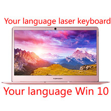 "J3355/J3455/J4105 14"" laptop 8G DDR4 RAM 1TB SSD metal shell your language laser Backlit keyboard(China)"