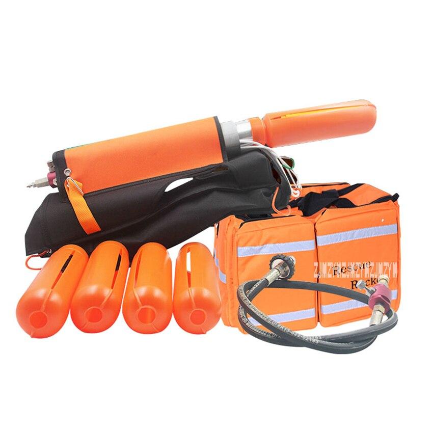 515606 Pneumatic Long Range Launcher Life Rope Throwing Gun Line Throwing Unit Appliance Water Lifesaving Launcher Equipment