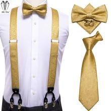 Hi-Tie 4PC Silk Woven Men