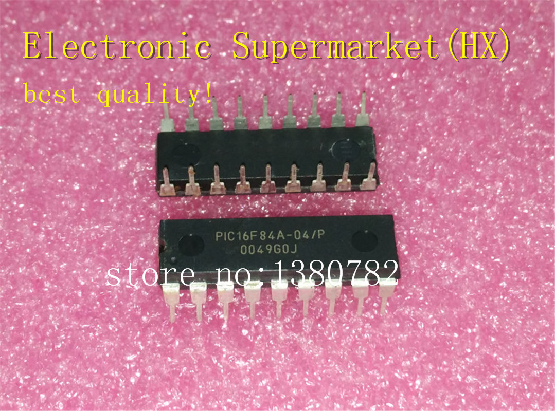 Free Shipping 50pcs/lots PIC16F84A 04/P PIC16F84A  PIC16F84  DIP 18 New original IC In stock!-in Integrated Circuits from Electronic Components & Supplies    1