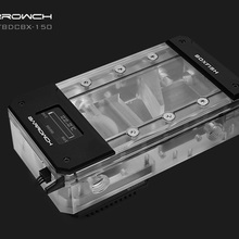 Barrowch FBDCBX, Digital Display PWM 17W Pump With Reservoir Combinations, Box Fish DDC Series, Integrated Pump + Reservoir