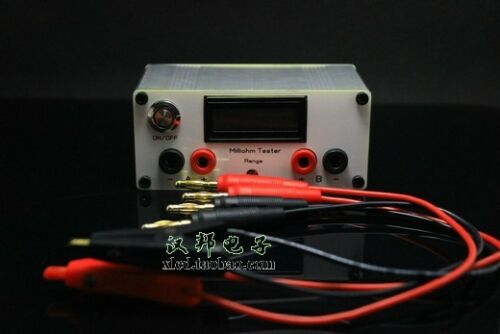 2018 Precision Milliohm Meter Four-wire Digital Micro-ohm Meter Resistance Meter