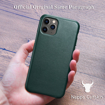 Genuine Leather Case for iPhone 12 Pro Max 11 Xs Max Mini 7 8 Plus X Xr Official Original Style Luxury Cow Phone Cases Cover