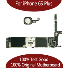 16 Gb/64 Gb/128 Gb Voor Iphone 6S Plus Moederbord 100% Origineel Unlocked Moederbord Zonder Touch id Functie Goede Kwaliteit