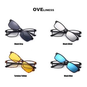 Image 5 - Поляризованные Магнитные очки для женщин и мужчин, солнцезащитные очки на магнитной застежке, очки для близорукости по рецепту, солнцезащитные очки 2020