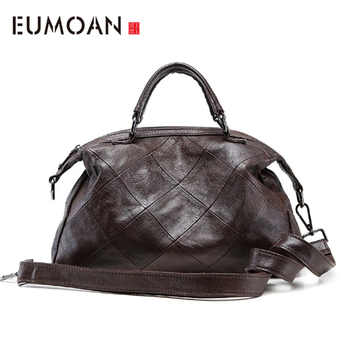 EUMOAN New fashion handbags classic leather handbag simple fashion shoulder shoulder bag - DISCOUNT ITEM  50% OFF All Category
