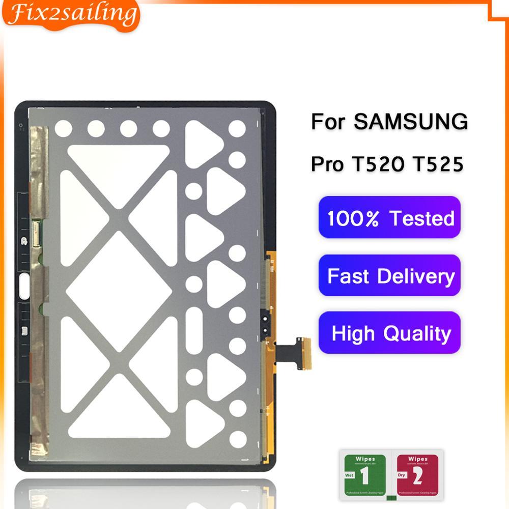 ЖК-дисплей, сенсорный экран, дигитайзер, сенсоры в сборе, сменная панель для Samsung GALAXY Tab Pro 10,1 T520 T525 SM-T520