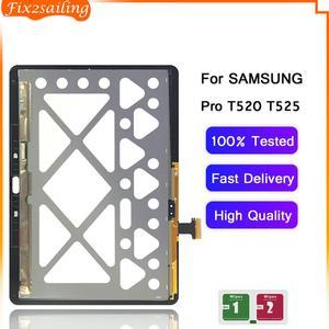 Display lcd de toque digitador da tela sensores montagem substituição do painel para samsung galaxy tab pro 10.1 t520 t525 SM-T520 SM-T525