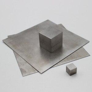 99.99% Pure Tungsten cube/sheet plate