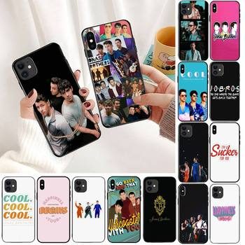 YNDFCNB Jonas Brothers Luxury Phone Case For iPhone 11 8 7 6 6S Plus X XS MAX 5 5S SE 2020 XR 11 pro Cover image