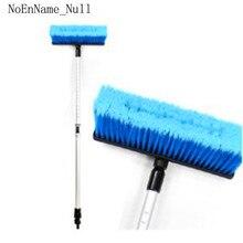Car Wash Water Brush Upgrade Long Handle Aluminum Alloy Retractable Soft Hair Equipment Supplies